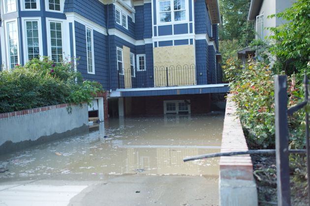 Another Roxboro Resident completely flooded - Calgary Flood